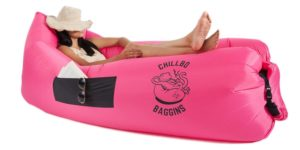Chillbo Baggins Inflatable Lounge Bag Hammock Air Sofa