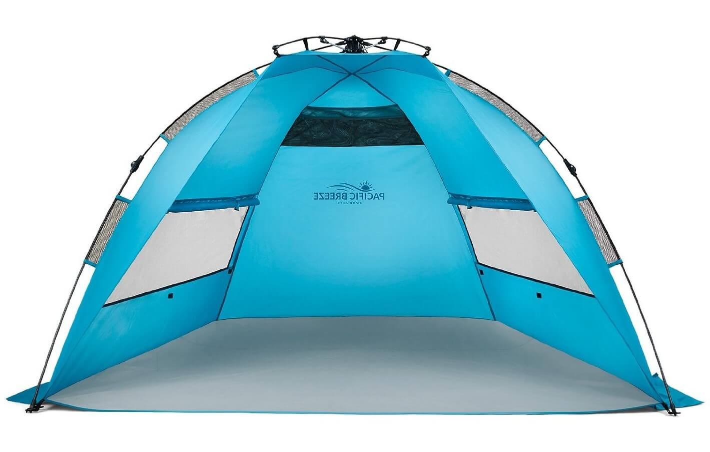 Pacific Breeze Easy Up Beach Tent  sc 1 st  Best Beach Gear : coleman sun shade canopy - memphite.com