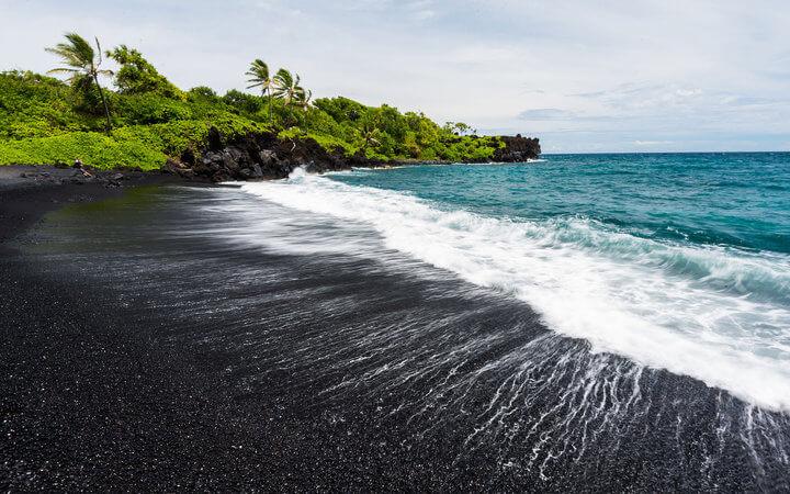 Punalu'u Beach, Hawaii