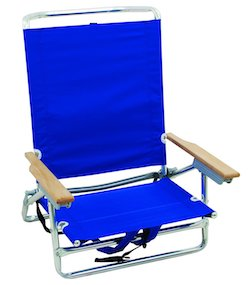 Rio Brands 5 Position Classic Lay Flat Beach Chair review