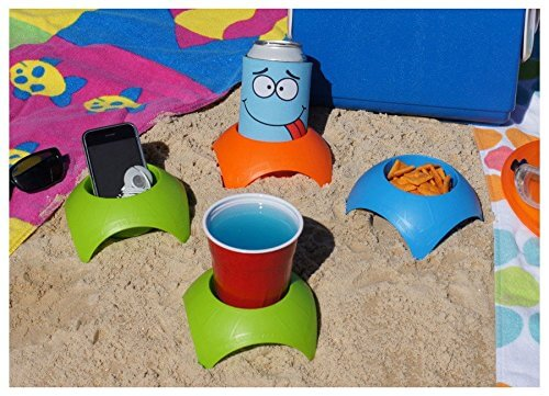 Turtleback Sand Coaster Drink Cup Holder